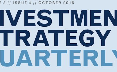 3rd Quarter Investment Strategy